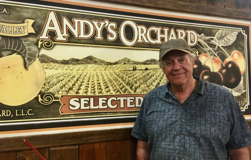 "Andy Mariani is 72 years old, but he has no plans to retire from fruit farming. ""This is my retirement. It's something I like to do. I've got some passion for it,"" he says."