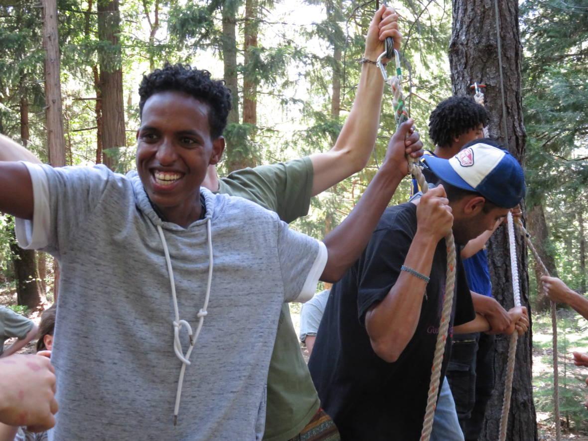Refugees and U.S. Teens Build Cultural Bridges in Unique Summer Camp