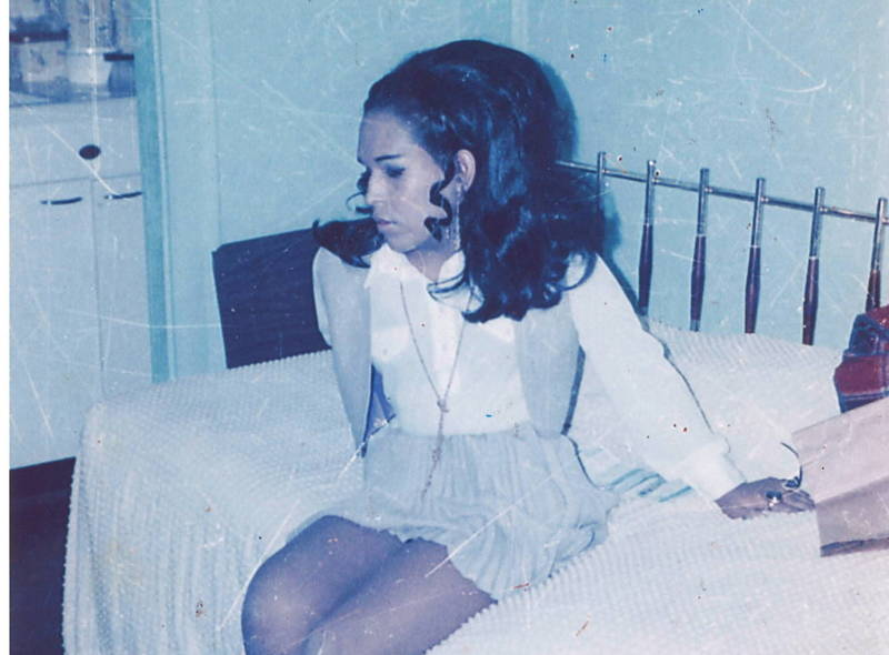 Felicia A. Elizondo at a hotel in Chicago in 1969.