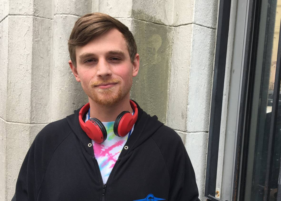 Young, Gay ... and Homeless, But Planning a Future in Genetic Engineering