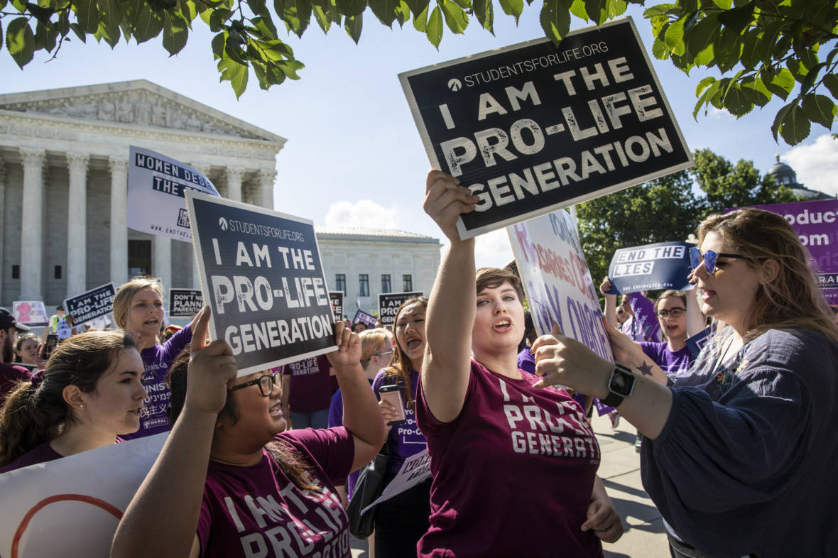 Supreme Court Sides with California Anti-Abortion Pregnancy Centers