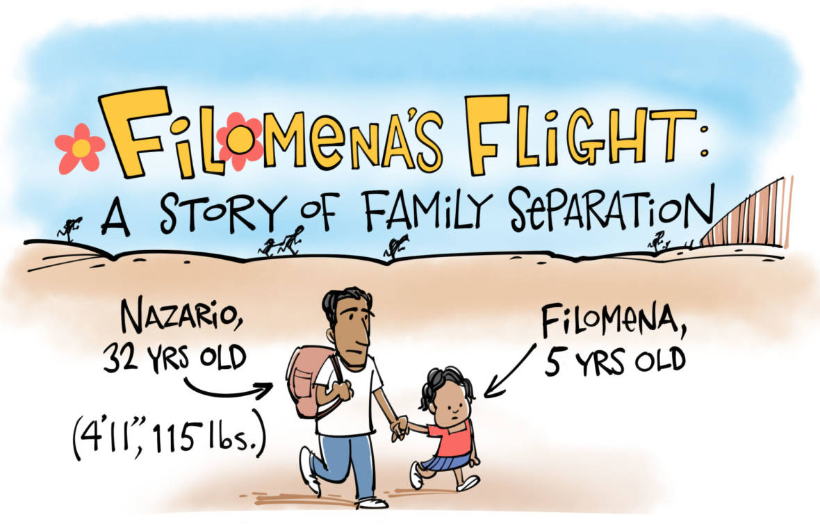 One Family's Story of Separation: A Cartoon Account
