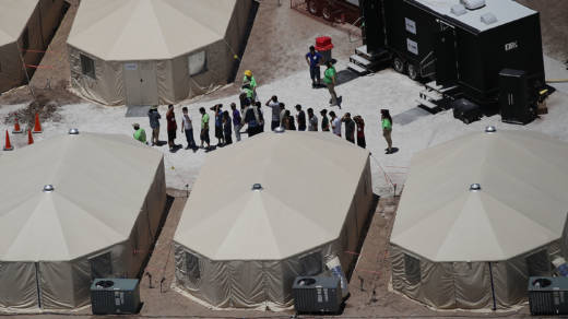DOJ Lawyer: Sanitary Conditions for Detained Migrant
