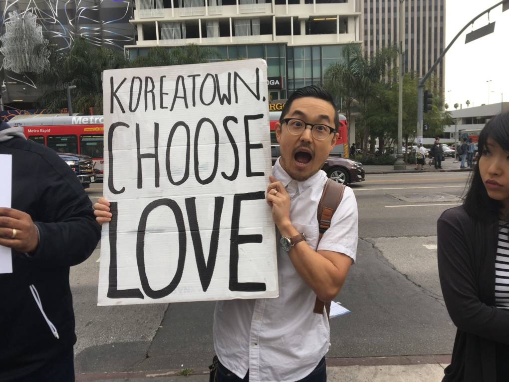 Johnny Lee is a restaurant owner in Koreatown and thinks a homeless shelter will improve the neighborhood.