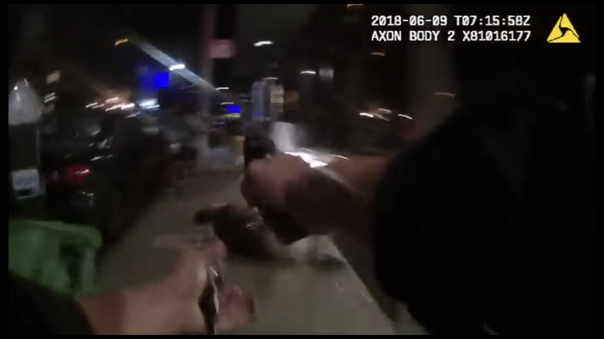 Bodycam Footage Shows SFPD Officer Shooting Man in the Back