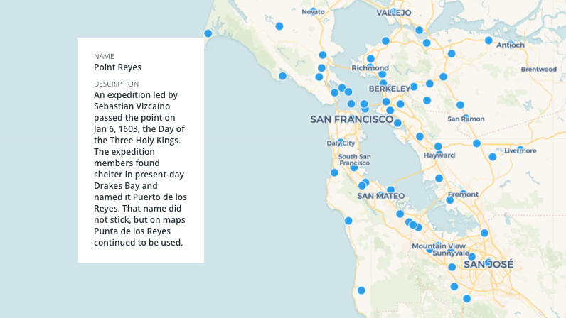 MAP: How 75 Bay Area Places Got Their Names
