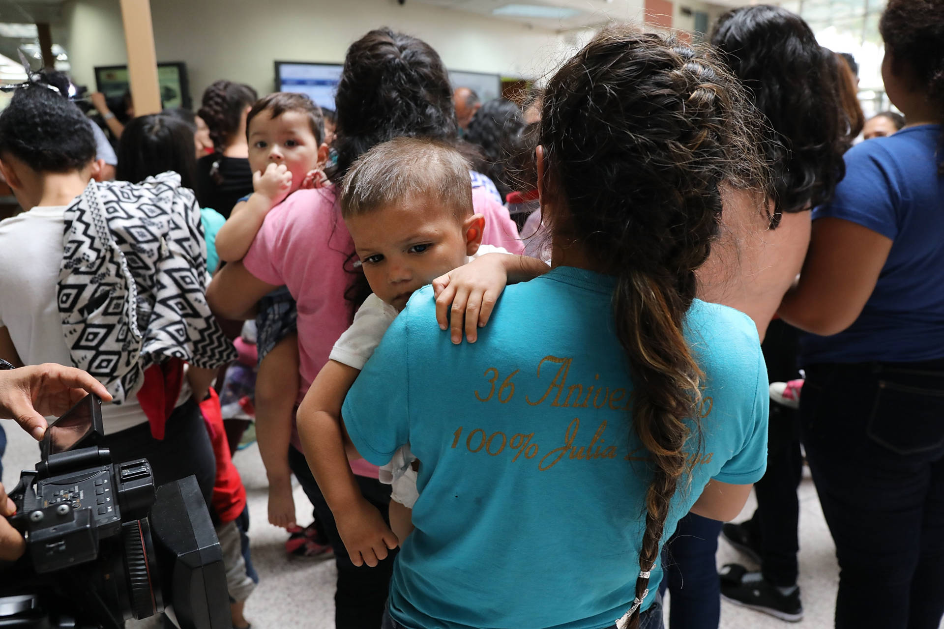 efore President Donald Trump signed an executive order halting the practice of separating families who are seeking asylum, over 2,300 immigrant children had been separated from their parents in the zero-tolerance policy for border crossers. Spencer Platt/Getty Images
