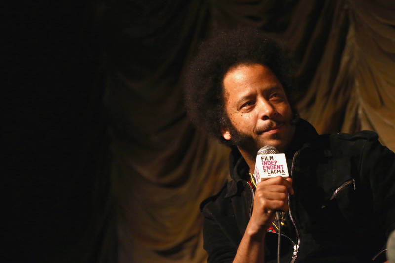 Director Boots Riley attends the Film Independent At LACMA Presents Screening And Q&A Of 'Sorry To Bother You' at Bing Theater At LACMA on June 28, 2018 in Los Angeles, California.