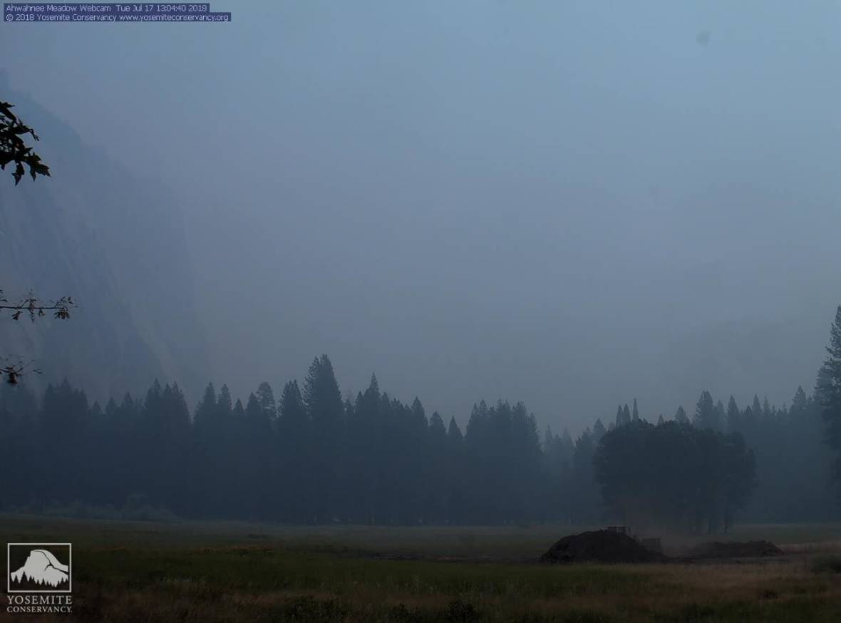 Wildfire Smoke Continues to Impact Health, Travel in and Around Yosemite