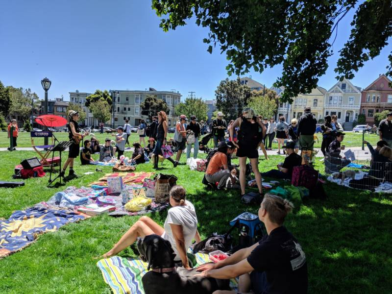 The 8th Annual Three Legged Dog Picnic convened dog lovers at Duboce Park on Sunday, July 8th.