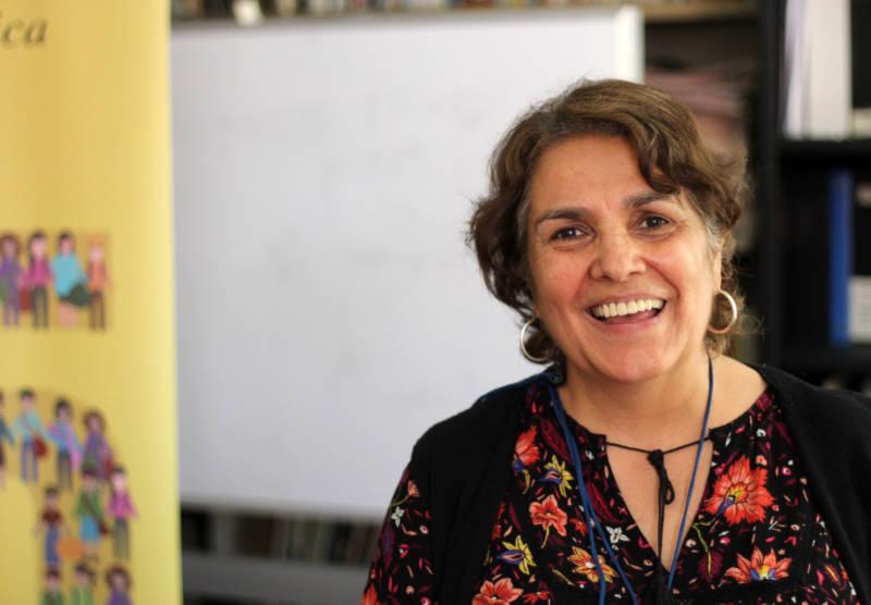 Casa Del Migrante jobs coordinator Lucrecia Oliva.