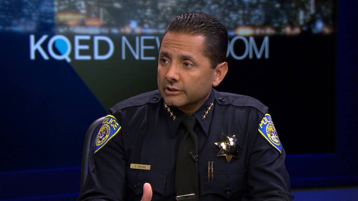 BART Police Chief Carlos Rojas Reacts to Stabbing Death