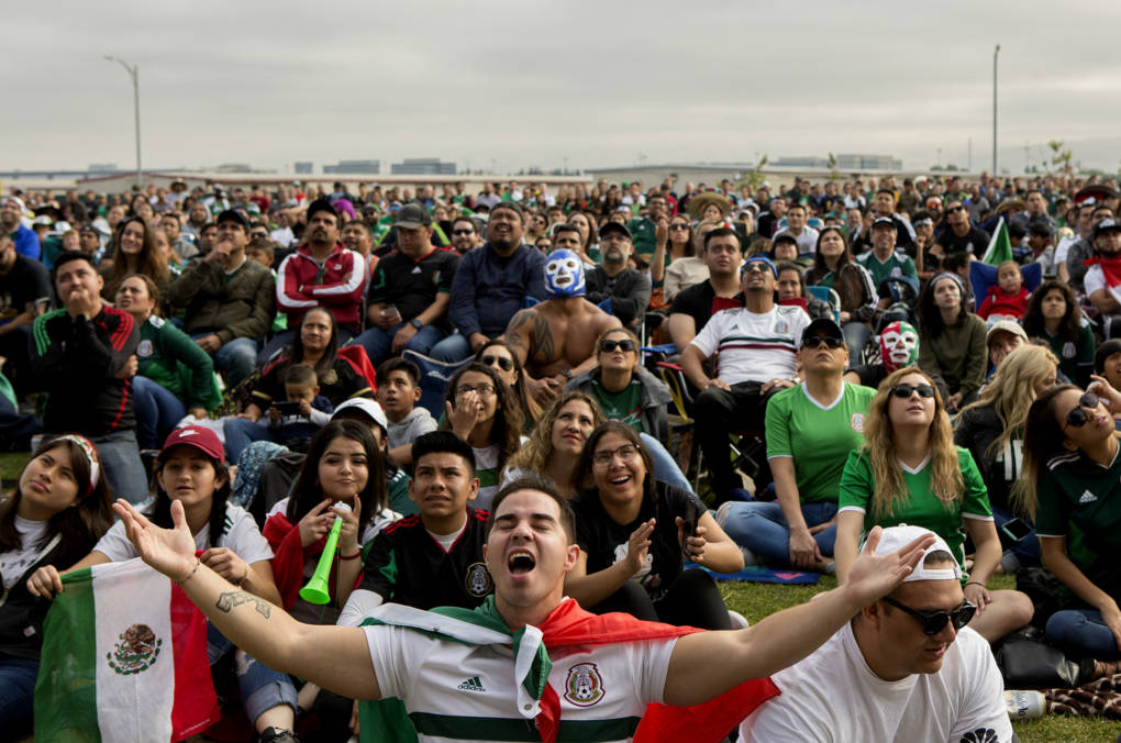 A crowd of more than 7,500 came to watch the game at Avaya stadium in San Jose, with the vast majority supporting Mexico.