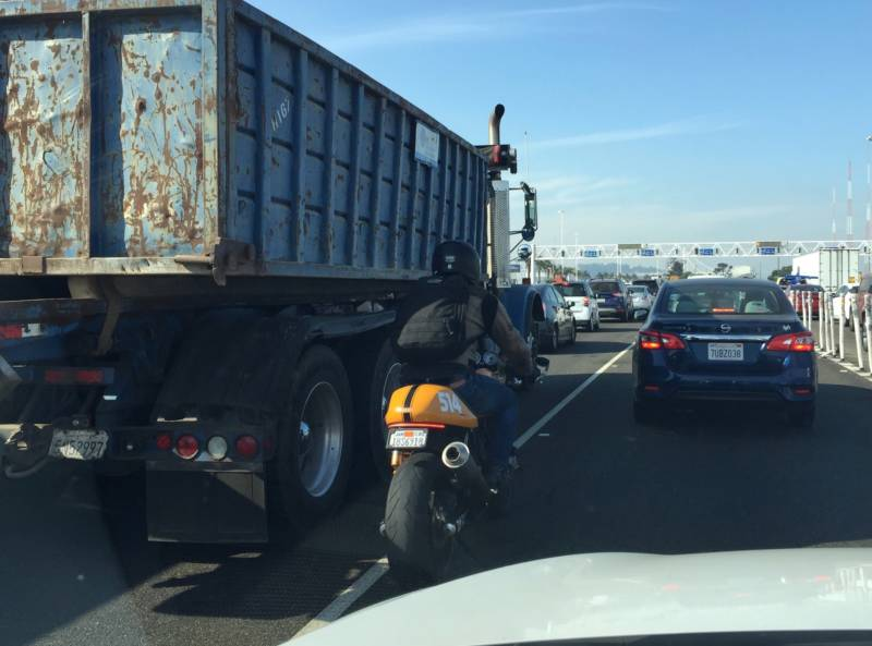 Drivers often say they disapprove of lane splitting because they believe it is unsafe.