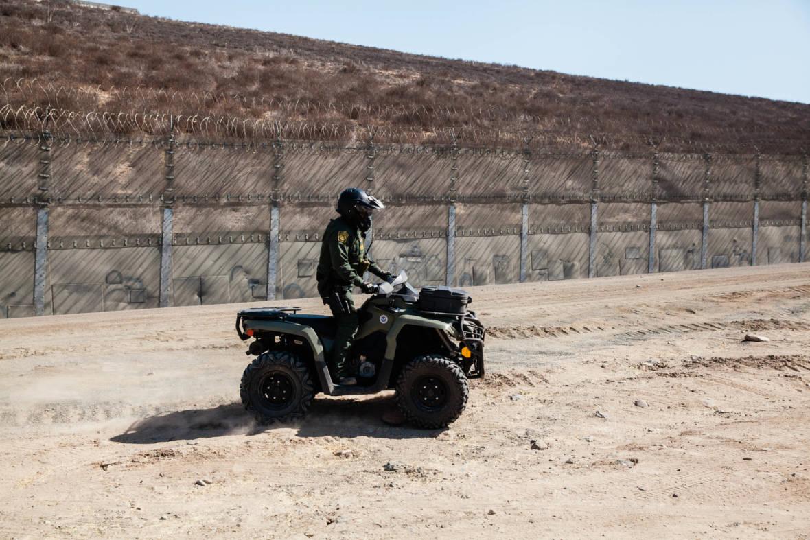 PHOTOS: A Ride With Border Patrol Along San Diego's Border Fence