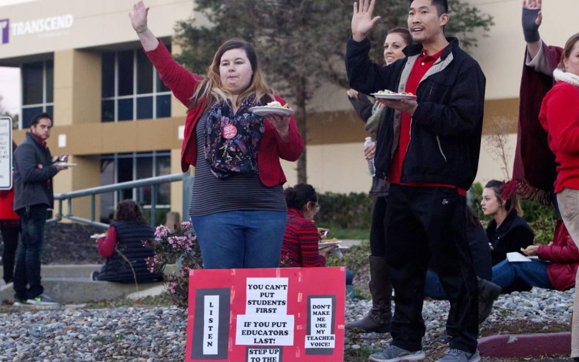 California Teacher Pension Debt Swamps School Budgets