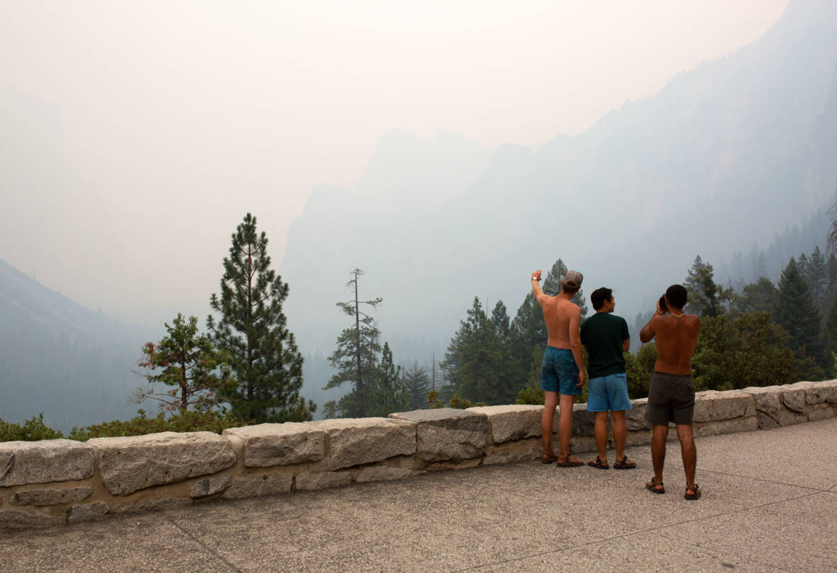 Yosemite Valley Officially Closed Due to Growing Ferguson Fire