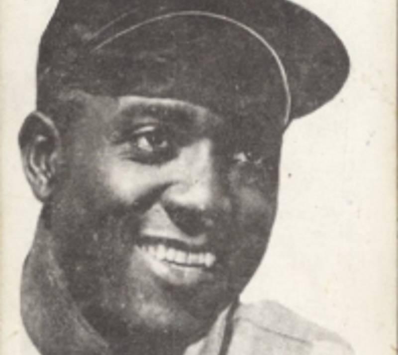 Baseball card featuring Artie Wilson.