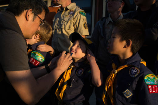 PHOTOS: First Bay Area Girls Join the Cub Scout Ranks | The