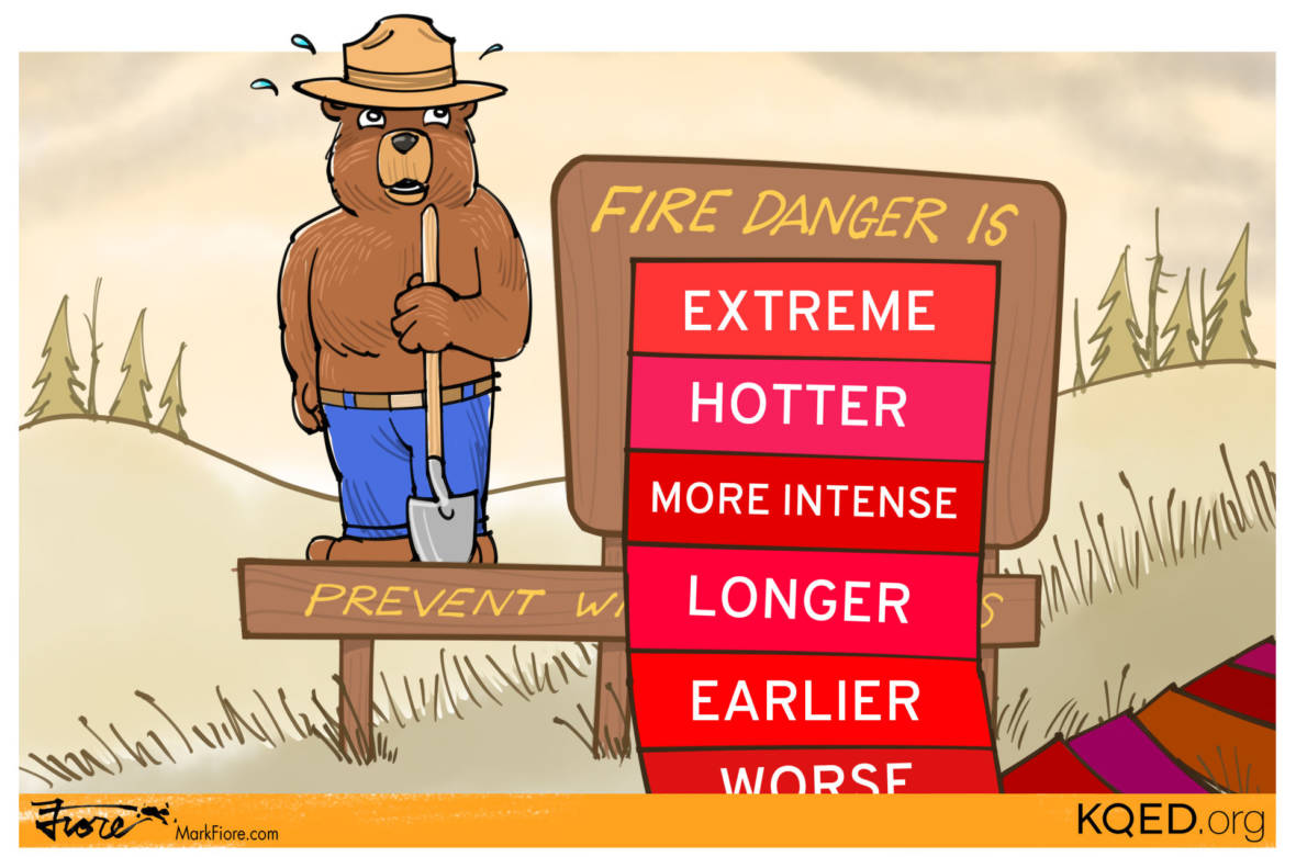 California's Earlier, Hotter and Longer Fire Season