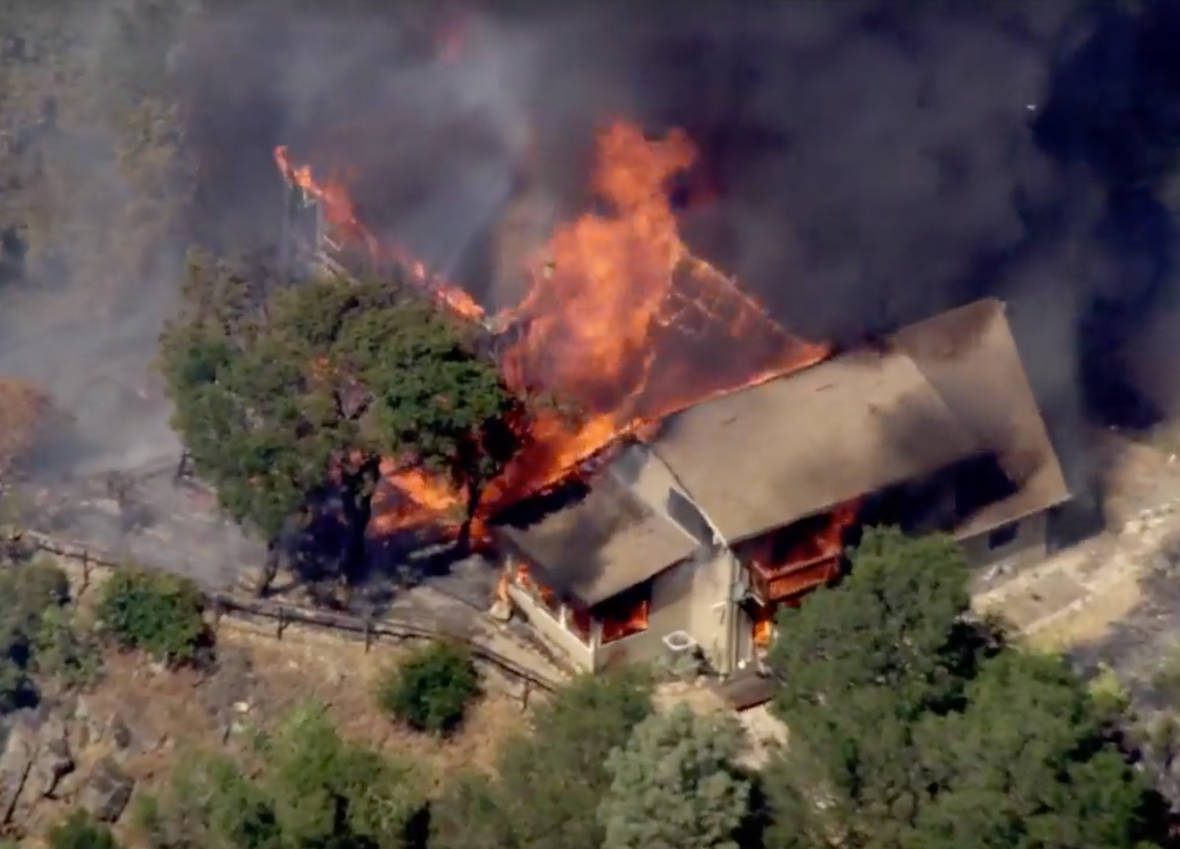 Firefighters Make Progress in Controlling Blaze East of Mount Diablo