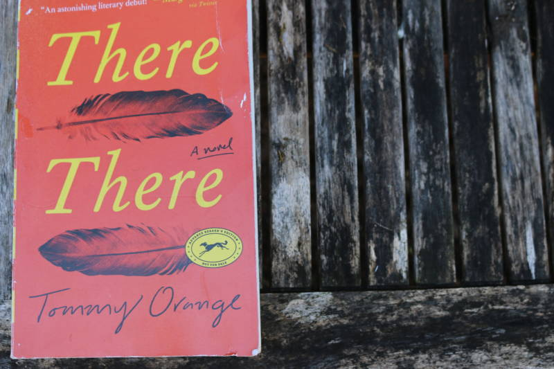 "A copy of Tommy Orange's ""There There,"" a first novel from the author, which has been on the New York Times Best Sellers list for the past month."