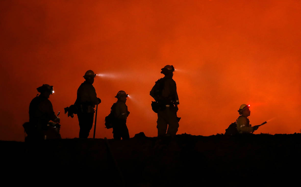 Fatality in Mendocino Complex Blaze Adds to Deadly Month for California Firefighters