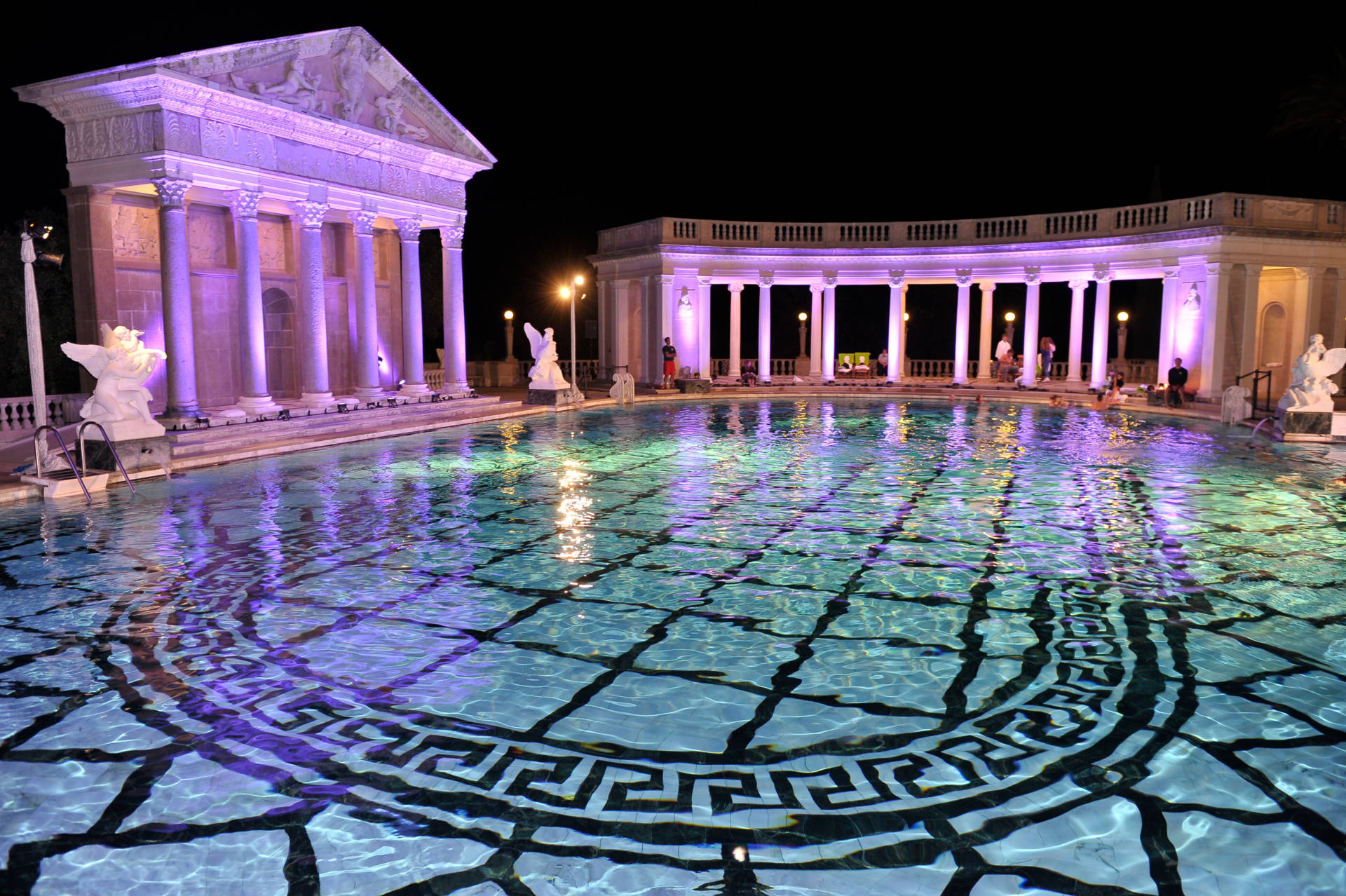 Famous Pool At Hearst Castle Being Filled Again The
