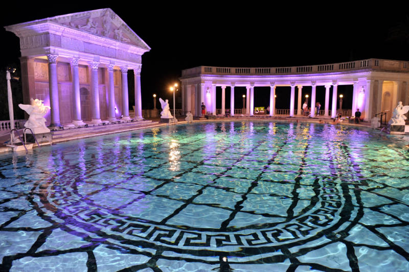 Famous Pool at Hearst Castle Being Filled Again