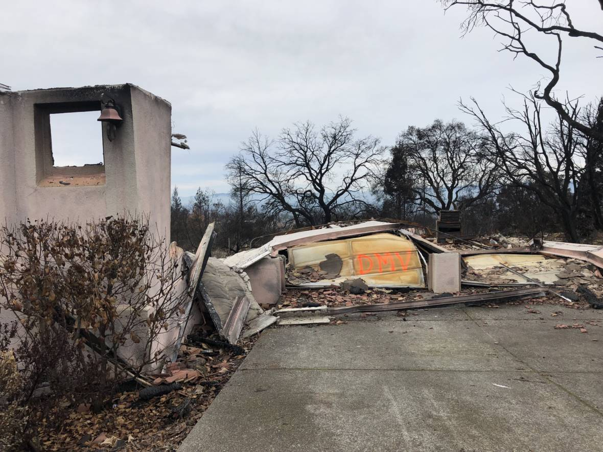 In Scathing Letter, State Criticizes Army Corps' Poor Oversight in North Bay Wildfire Cleanup