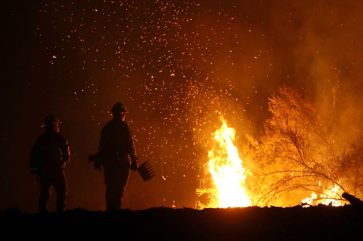 New Evacuations Ordered as Mendocino Complex Fire Spreads
