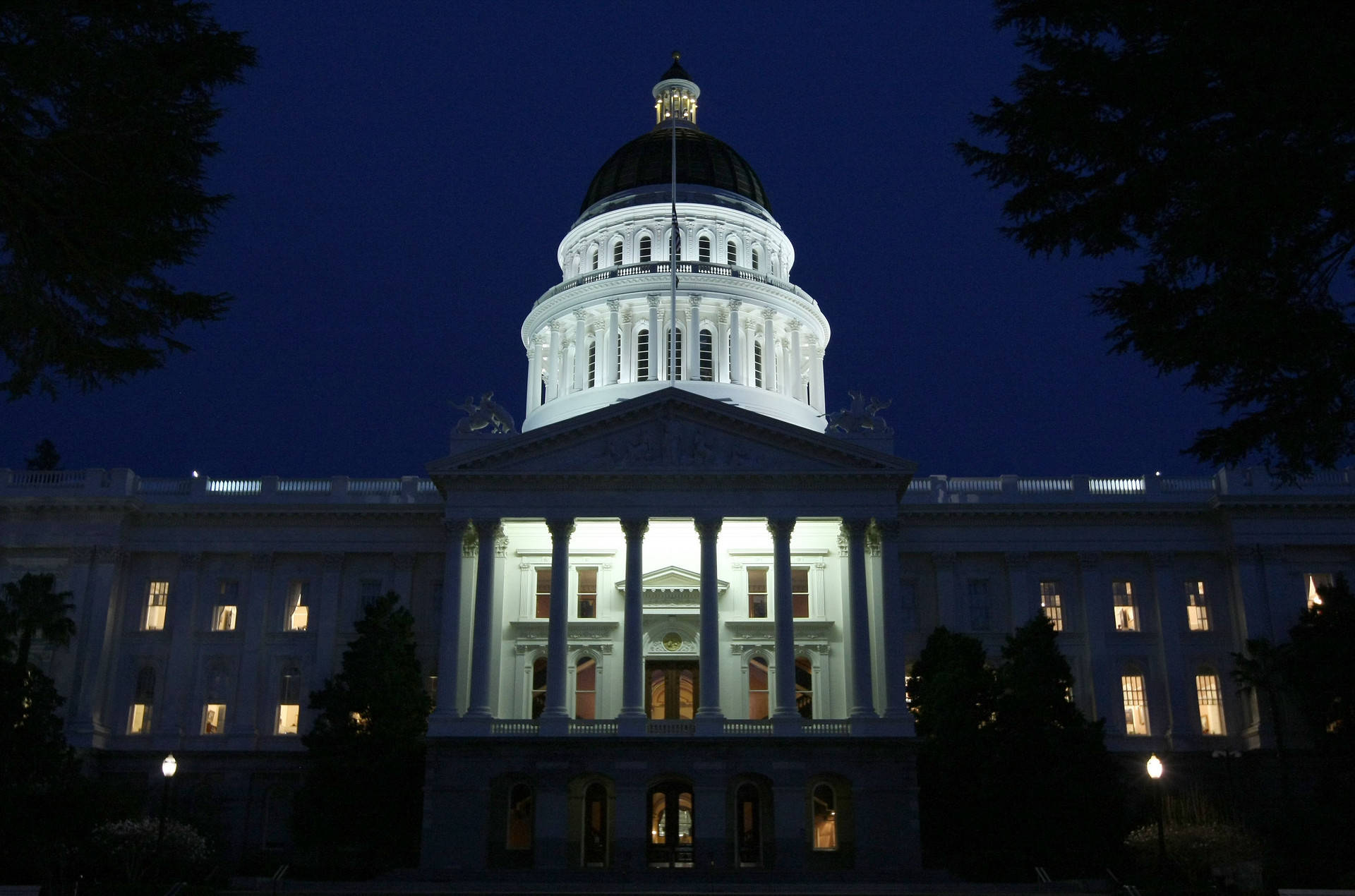 A view of the California State Capitol in Sacramento. Justin Sullivan/Getty Images