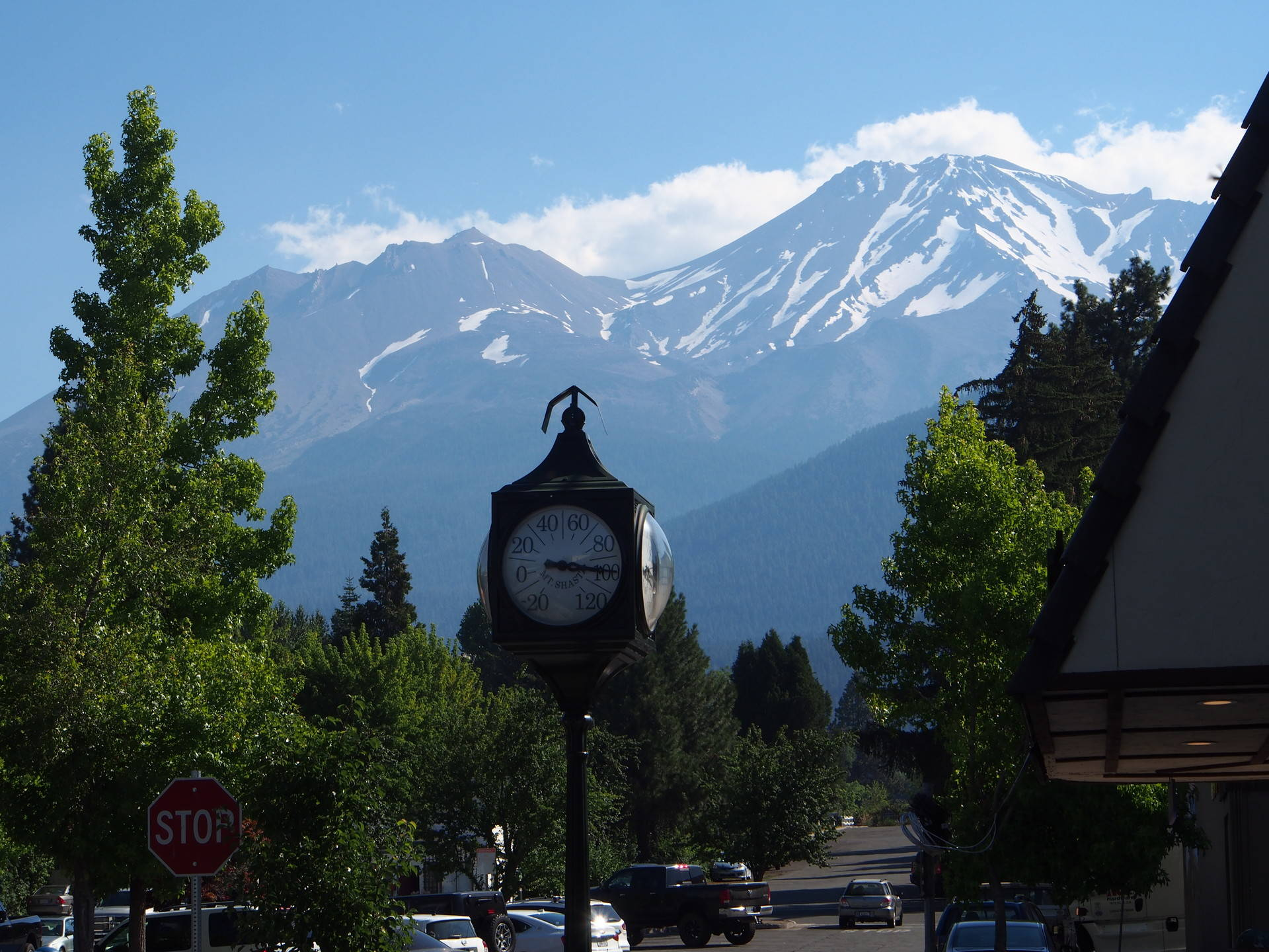 There are three main theories that explain the origin of the mysterious hole dug into Mount Shasta, and each theory tells a different story about the region's history.  Cat Schuknecht/KQED