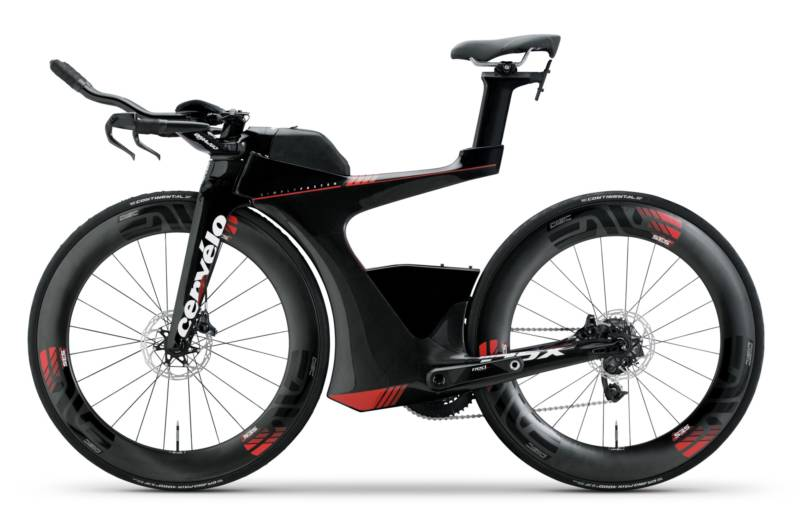 """From aerodynamically integrated storage and stress-free packing to unprecedented micro- and macro-adjustability, the P5X focuses on a singular goal: Helping triathletes achieve their personal best,"" writes Cervélo on its web site."