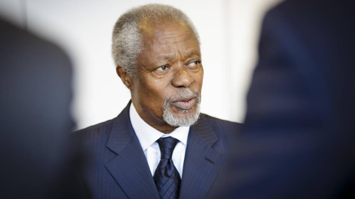 Kofi Annan, Former U.N. Secretary-General, Peace Prize-Winner, Dies at 80