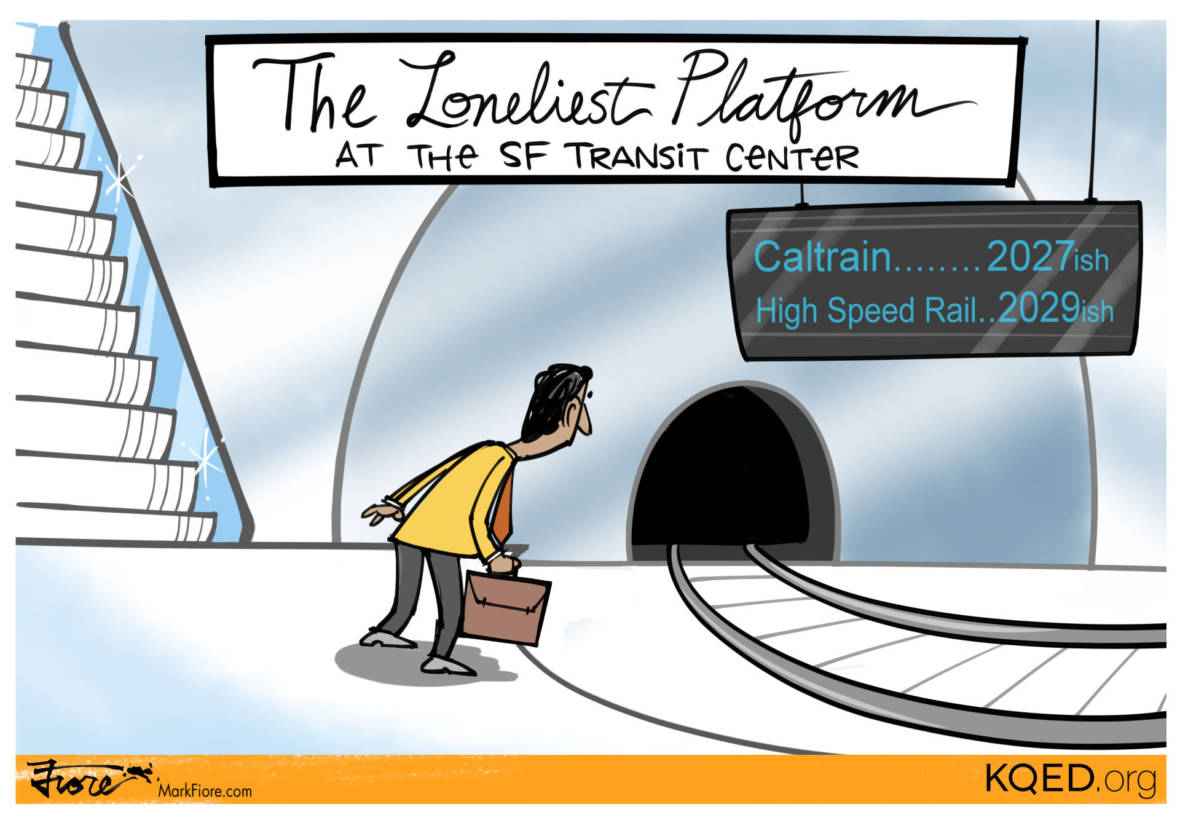 A Shiny New Transit Hub