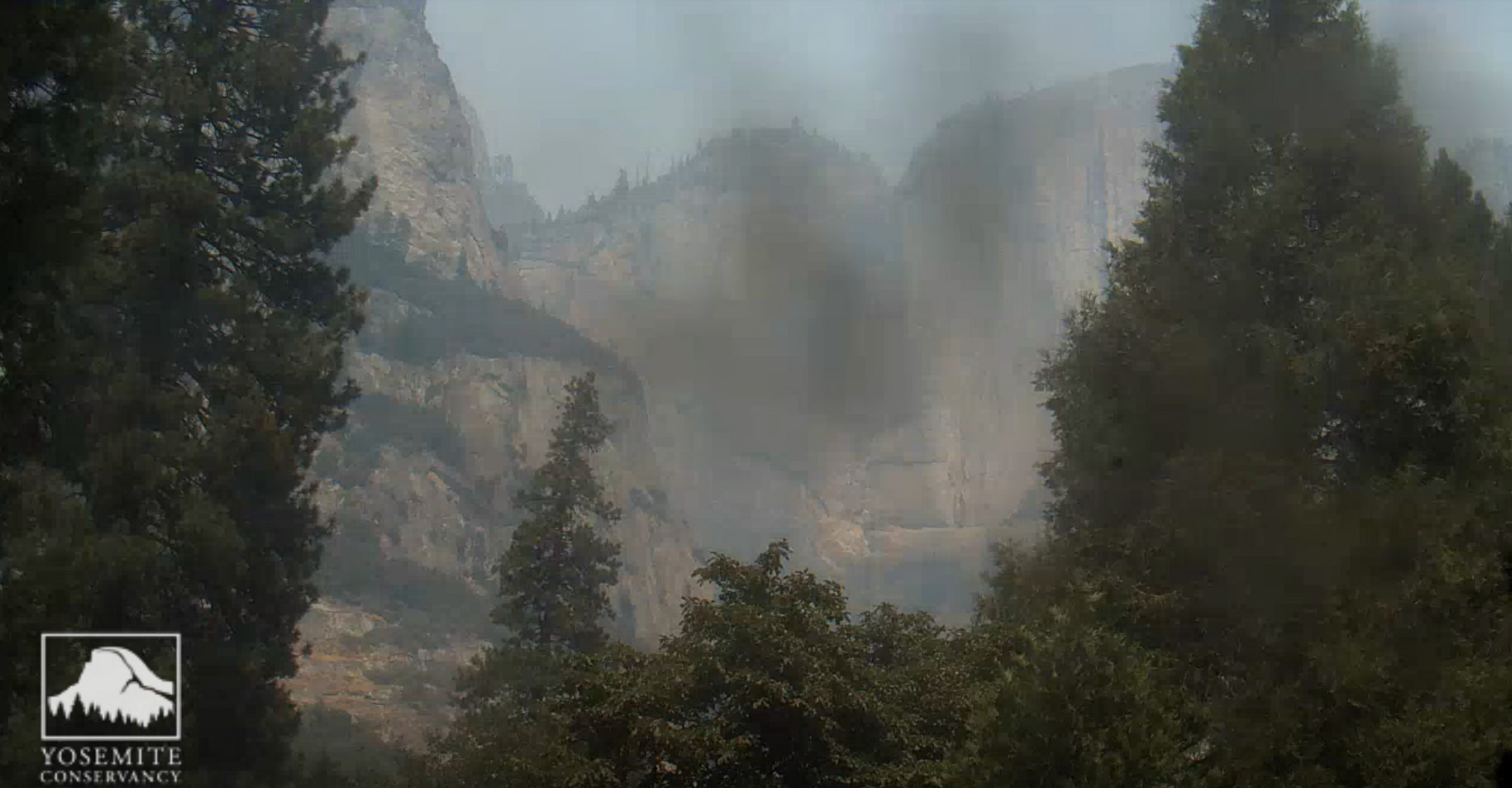 Yosemite Falls view on August 12, 2018. Courtesy of Yosemite Conservancy