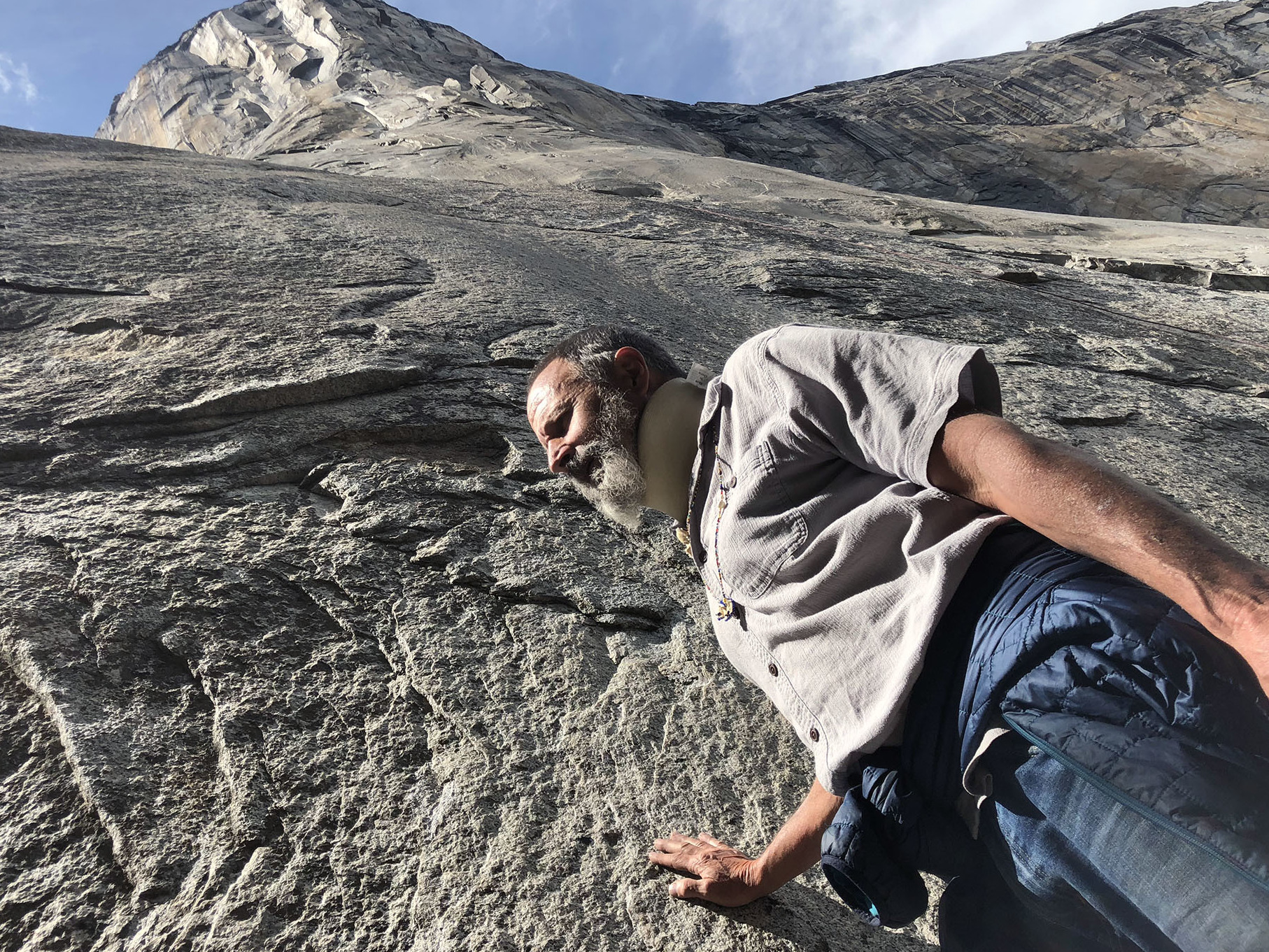 Ken Yager has lived in Yosemite for over 40 years. He fell in love with the park when he touched El Capitan for the first time at 13 years old, and even lived in a cave in the park at one point.