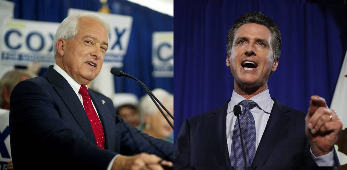 John Cox, Gavin Newsom on Housing