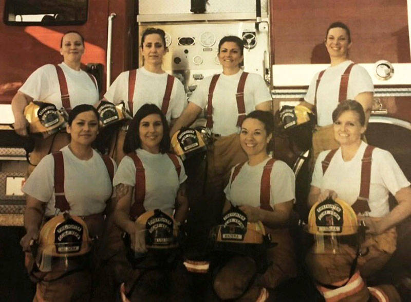 Amika Mota and the rest of her all-female inmate fire crew responded to structure fires, vehicle fires, medical calls, car accidents and wildfires — any emergency within a 30 mile radius of the Central California Women's Facility.