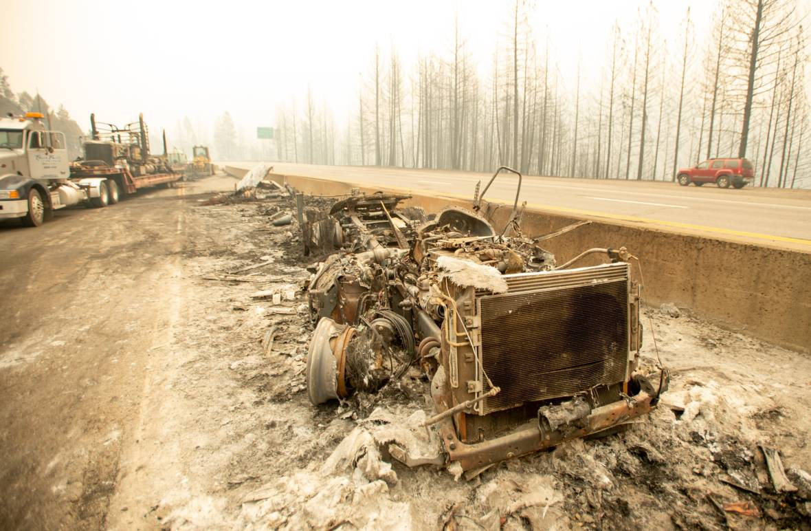 Delta Fire Update: After Cleanup, Restrictions Eased on I-5 Travel