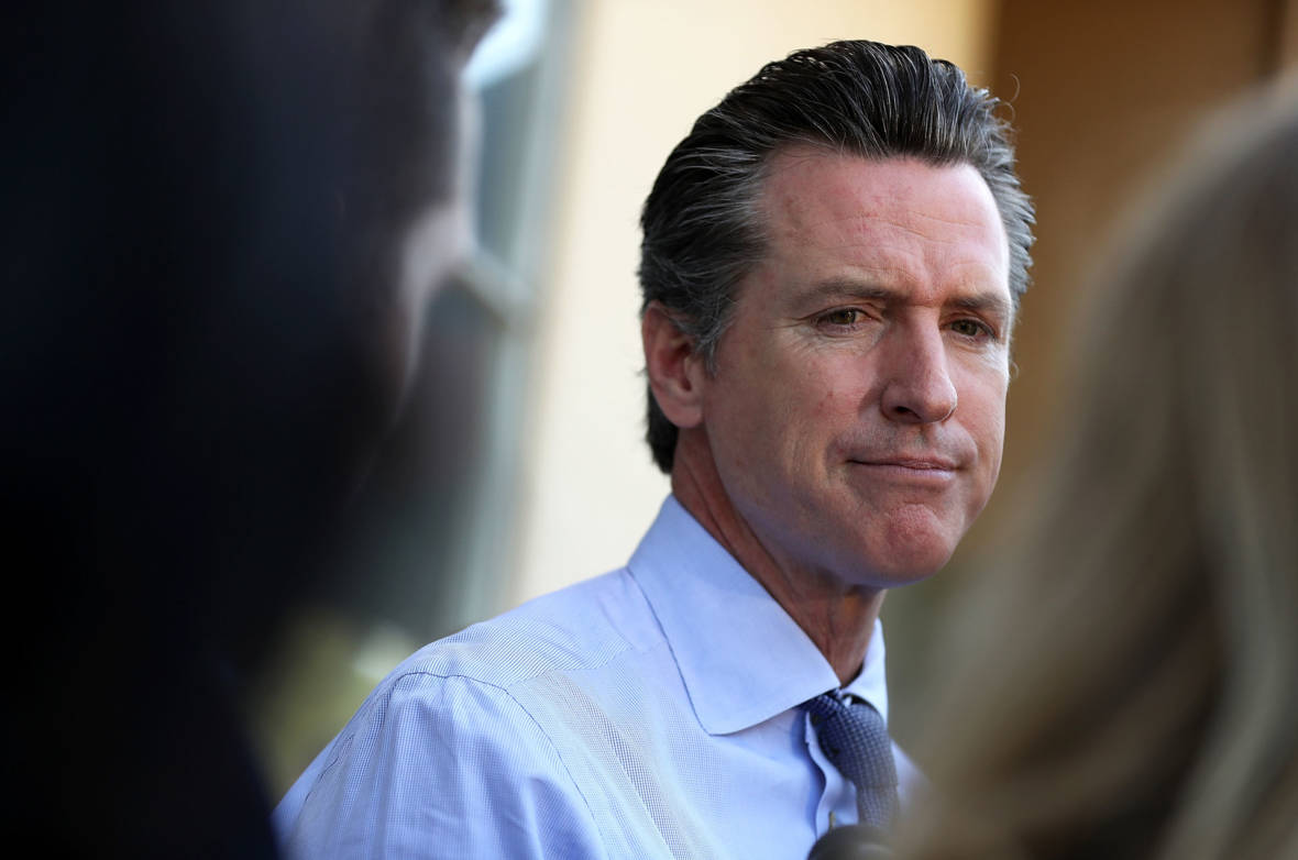Gavin Newsom's Ex Is Dating Trump's Son. Does That Impact His Relationship With the President?