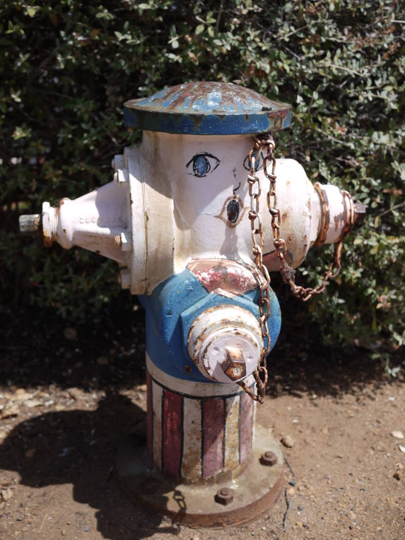 Listener Ben Hilmer spied this painted hydrant a block from his house.