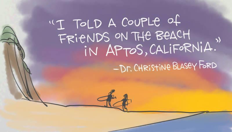 Beach Friends by Mark Fiore