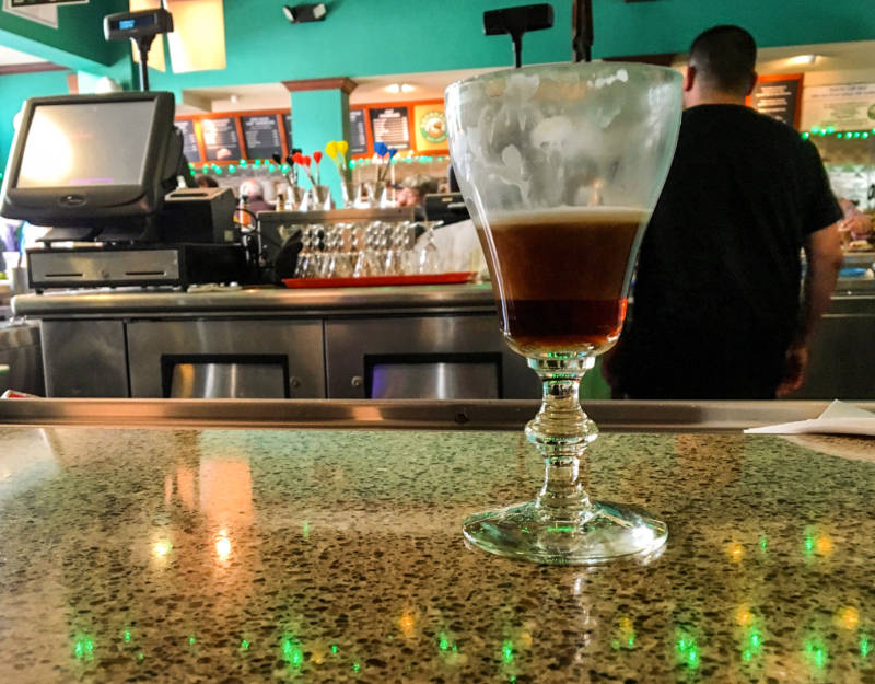 Irish coffee was the signature offering at Brennan's, a bar closing Saturday, Sept. 15, just short of its 60th anniversary.