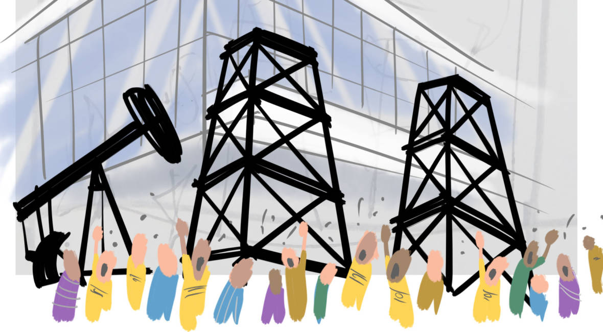 The Climate Summit: A Cartoonist-on-the-Street Perspective