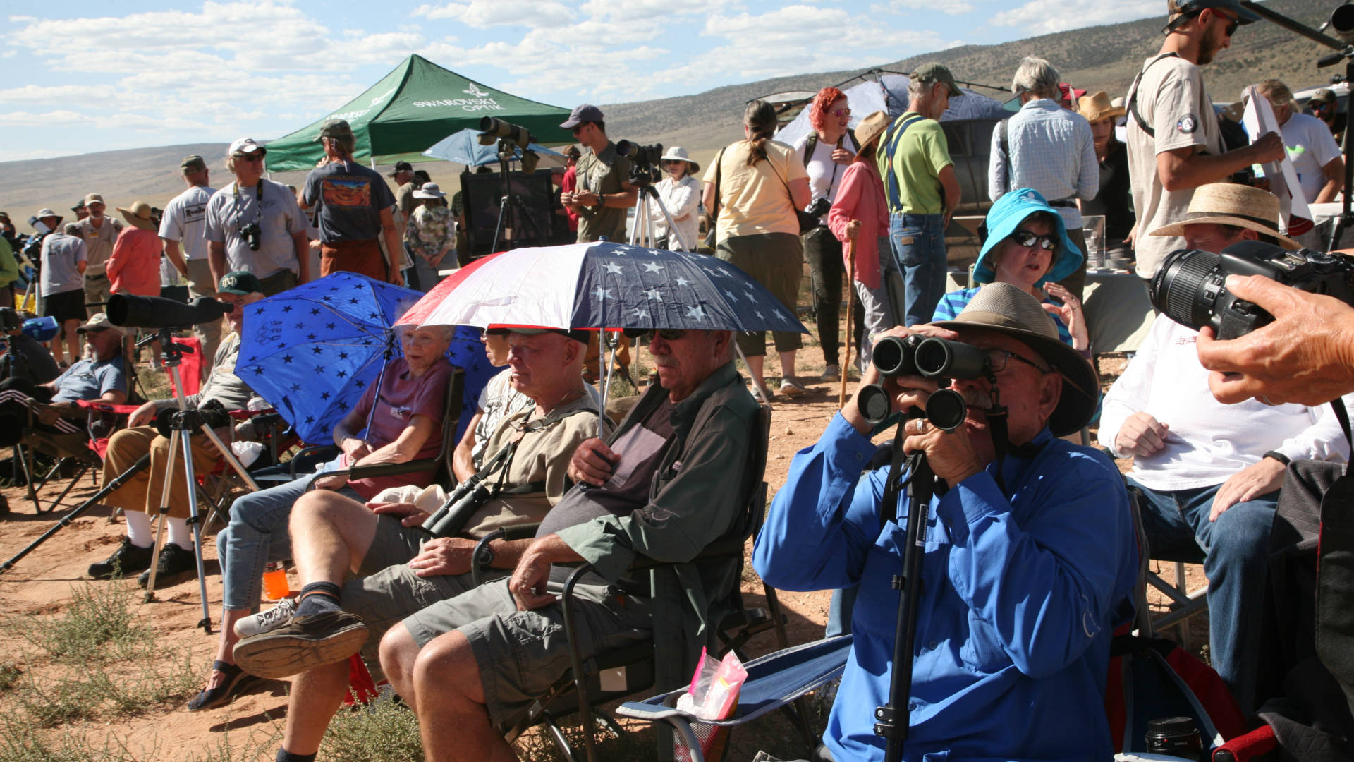 This year, more than 750 people came to see the release of the condors at Vermilion Cliffs National Monument in Arizona.