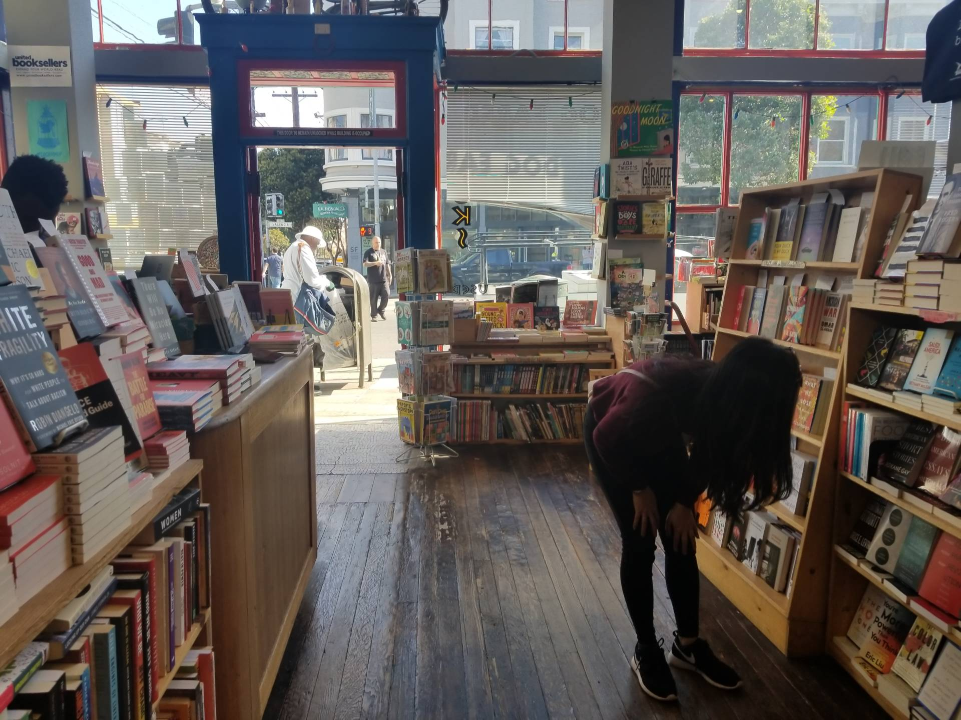 San Francisco is known for its colorful and vibrant independent bookstores and the city wants to keep them in business.  Anna Kusmer/KQED