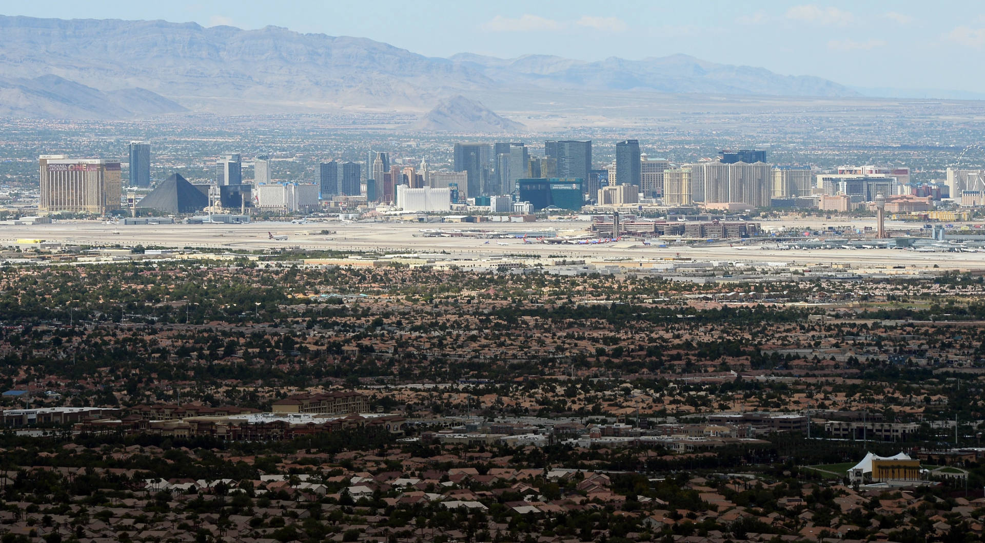 Californians have poured across the state line over the past few years, fleeing high housing costs. Now, some Nevada Republicans fear the state will begin to resemble its deep blue neighbor. Ethan Miller/Getty Images for Ascaya