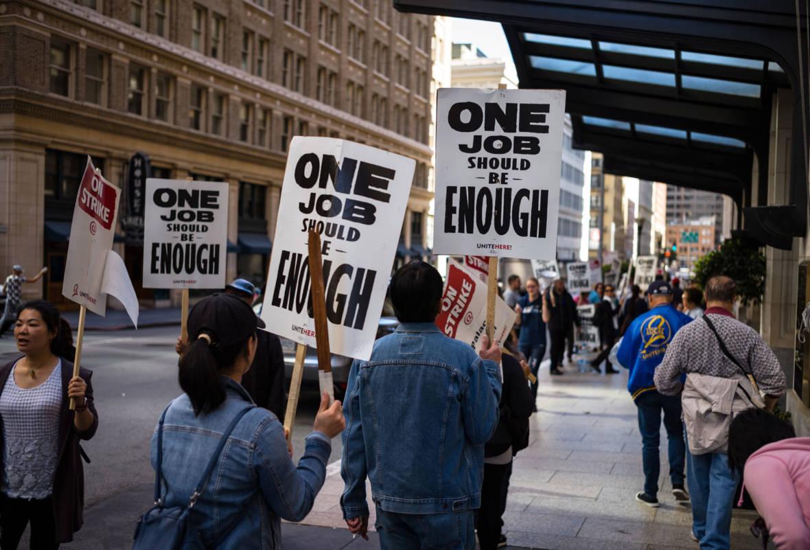 San Francisco Marriott Hotel Strike 'Far From Resolution'